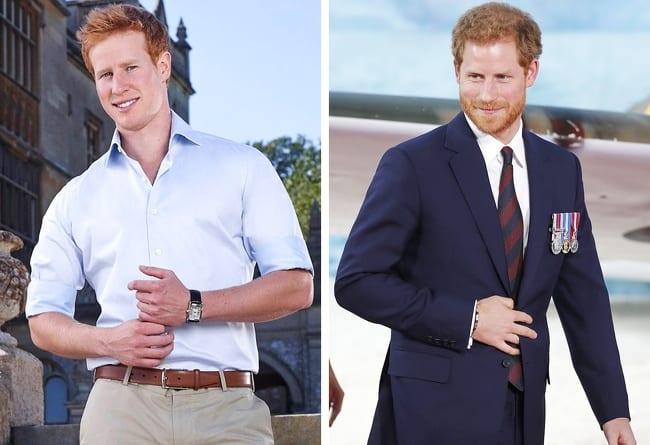 Matt Hicks i Prince Harry