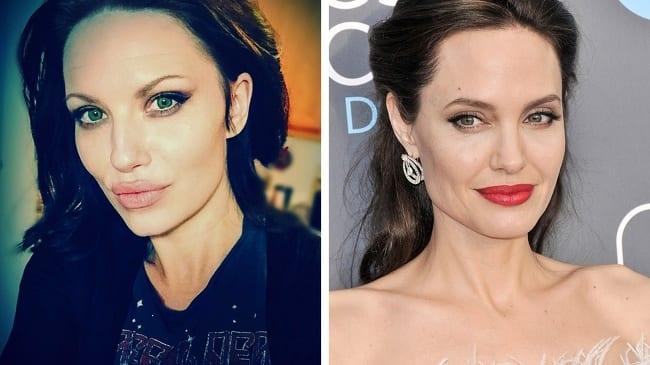 Melissa Bazan i Angelina Jolie