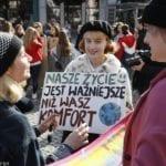 globalne ocieplenie strajki polska-min