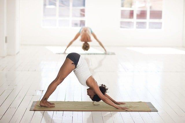 rozciąganie joga