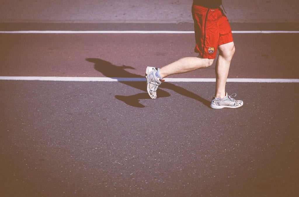bieganie nogi